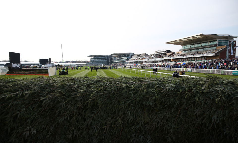 The Chair fence at Aintree.