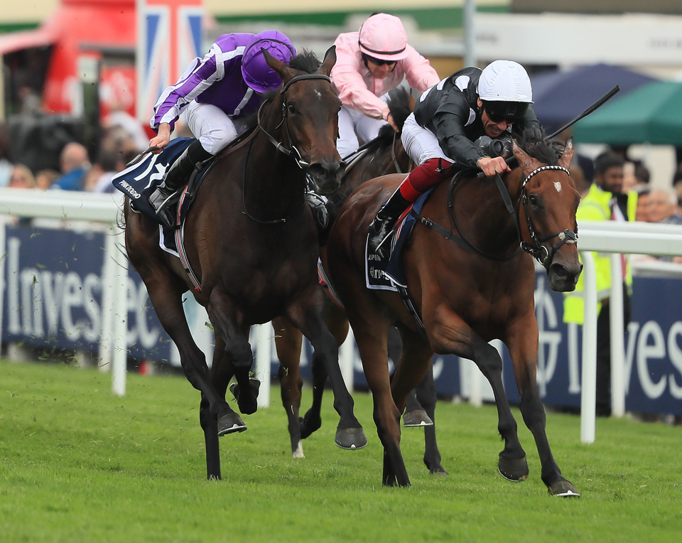 Anapurna came out on top in the Epsom Oaks earlier this season.