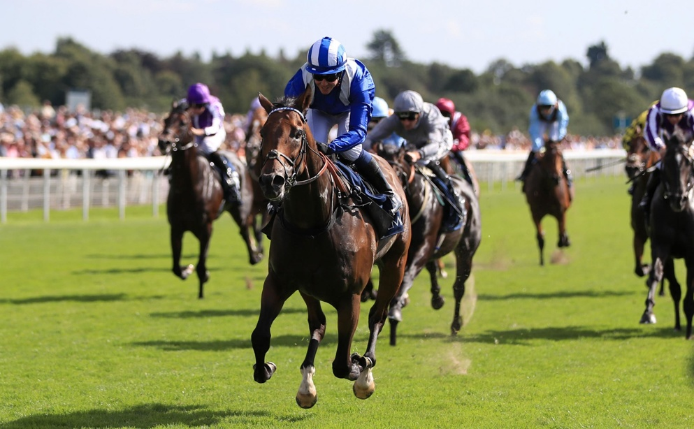 Battaash won the Nunthorpe Stakes for the second year running last month.