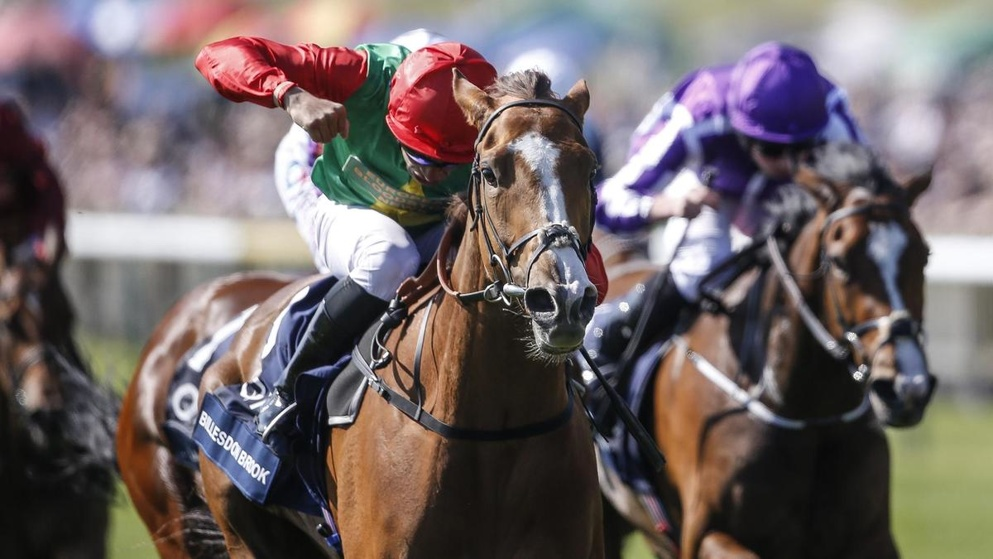Billesdon Brook won last year's Sun Chariot Stakes at Newmarket.