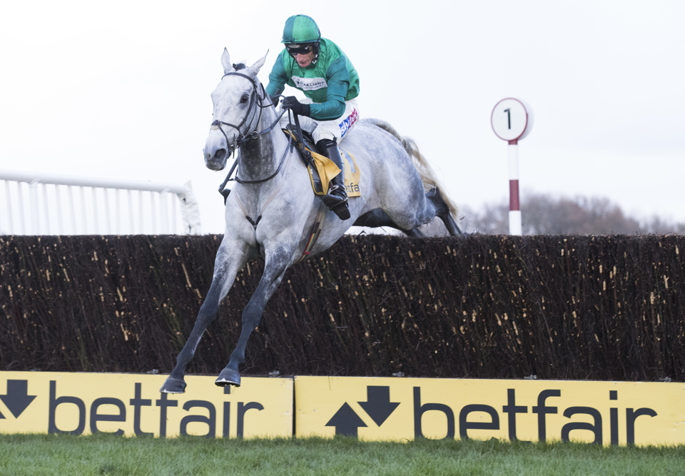 Bristol De Mai is looking for a third Betfair Chase win in a row at Haydock on Saturday.