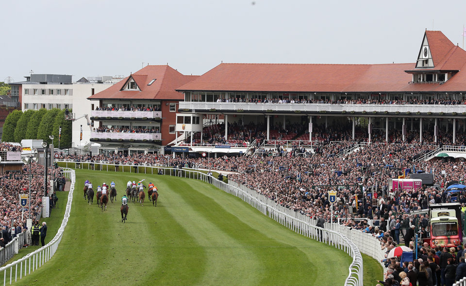The Chester Cup is a competitive handicap contest held in May.