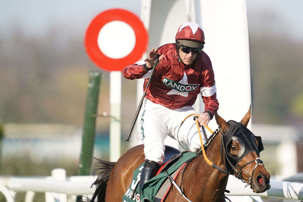 Tiger Roll will have to carry top weight in this year's Grand National.
