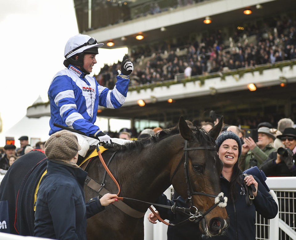 Frodon was an excellent winner of the Cotswold Chase in 2019