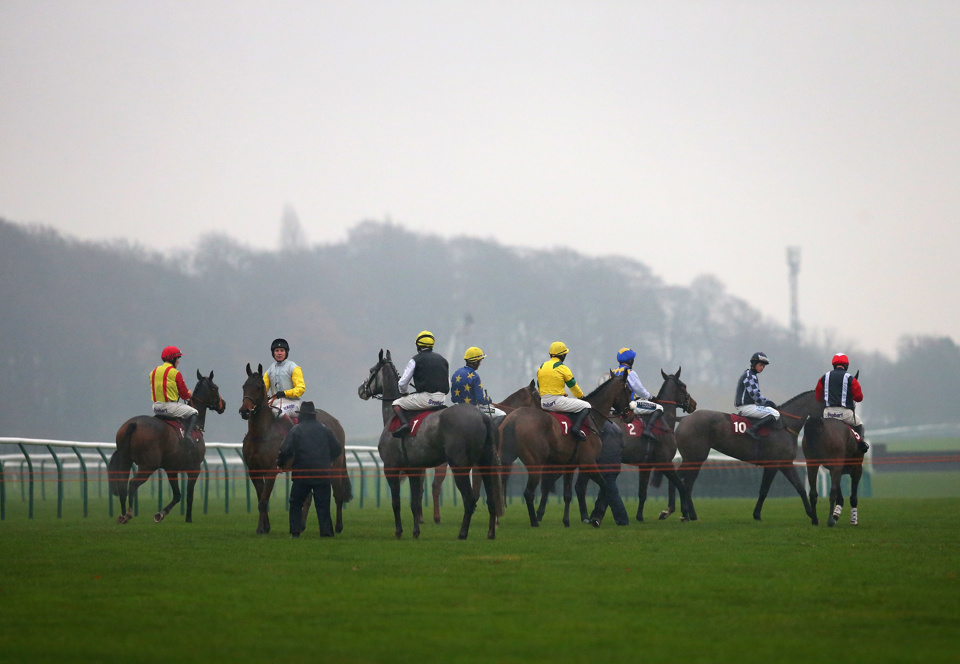 It's likely to be particularly testing at Haydock on Saturday afternoon.