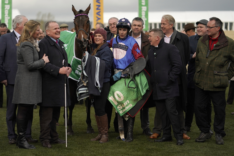 Paisley Park continued his winning run in last month's Cleeve Hurdle at Cheltenham.