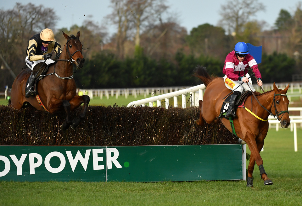 Road To Respect has won each of the last two renewals of the Grade 1 Down Royal Champion Chase.