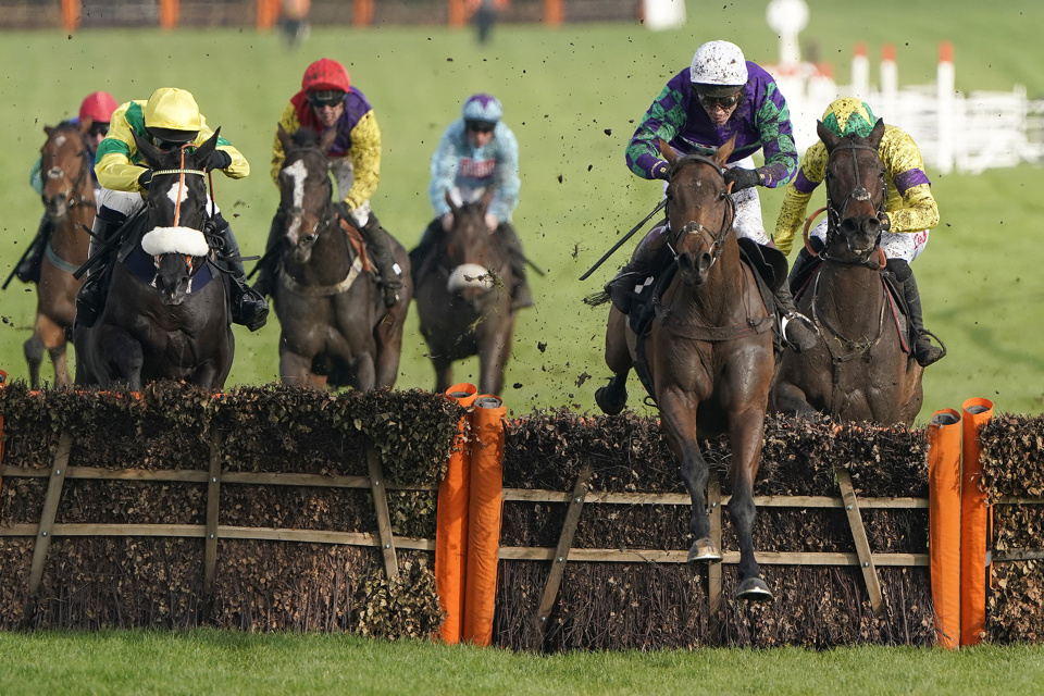 Thyme Hill has won both of his starts over hurdles so far, including a Grade 2 contest at Cheltenham last time out.