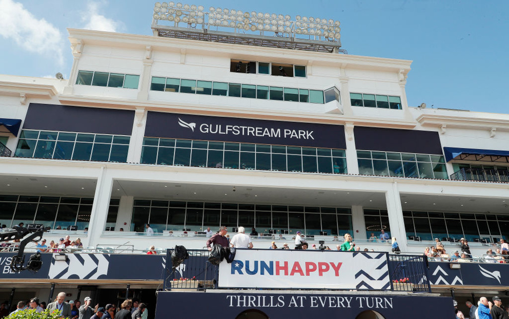 Gulfstream Park begins the week with an eight-race card on Thursday