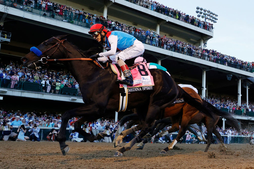 Kentucky Derby winner Medina Spirit looks likely to try for the Preakness